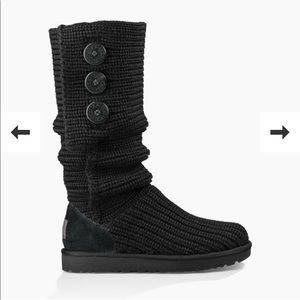 Black UGG Cardy boots